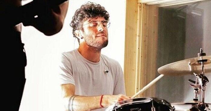 North London drum tutor Luca Romano